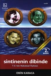 2001 DENEME-İNCELEME-ARAŞTIRMA Sintinenin Dibindekiler, Emin Karaca, Karakutu Yayınları